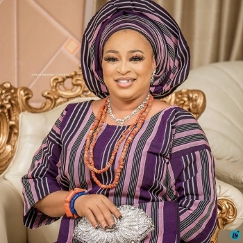 Aura Of Beauty: One Of The Wives To Alaafin Of Oyo, Celebrates Her Birthday In Grand Style (Photos)